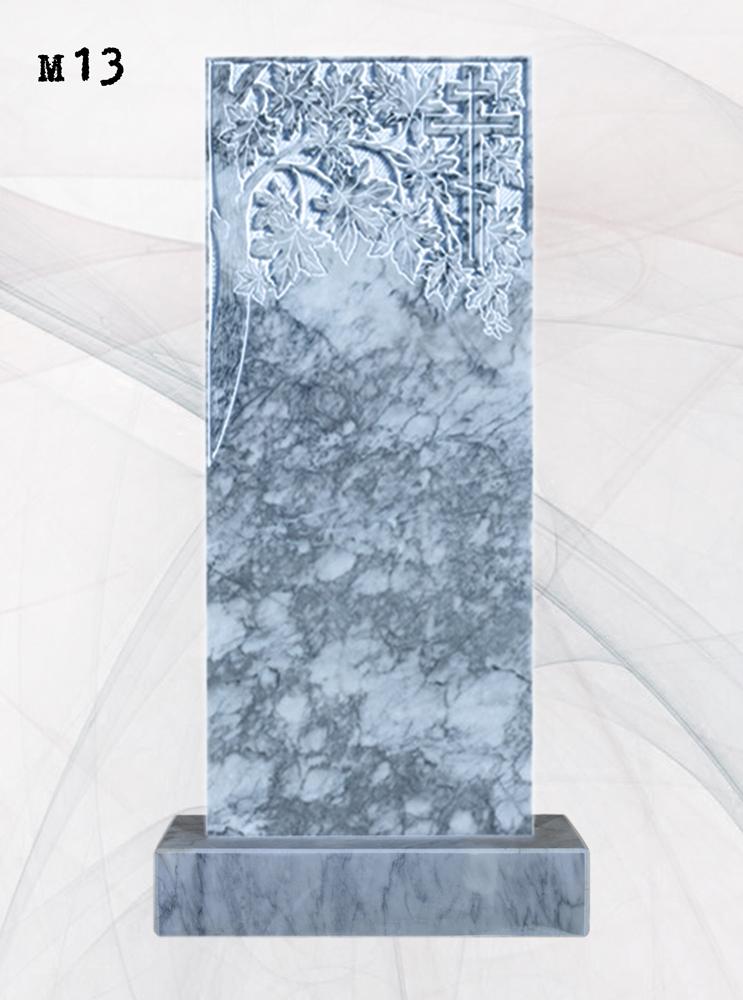 Мраморный памятник прямой клён